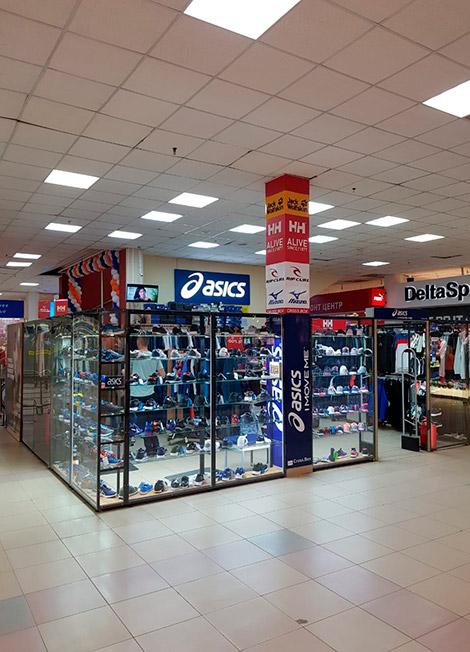Магазин Asics в Симферополе